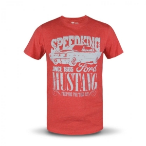 Koszulka T-Shirt Bluzka Ford Mustang Speed Red