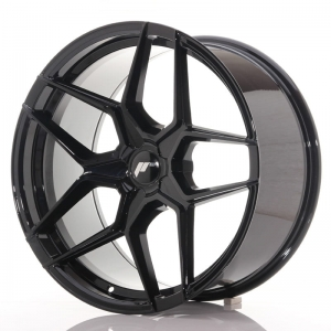 "Felga Japan Racing JR34 19"" 9,5J ET40 5x114,3 Glossy Black"