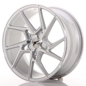 "Felga Japan Racing JR33 19"" 9,5J ET40 5x114,3 Silver Machine"
