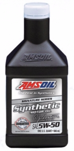 Olej 5W-50 Signature Series Synthetic Motor Oil 0,95l AMS OIL